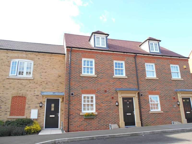 3 Bedrooms Terraced House for sale in Greenkeepers Road, Great Denham, Bedfordshire, MK40 4GW