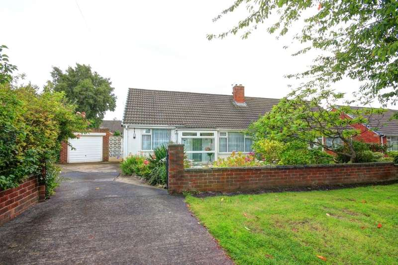 2 Bedrooms Semi Detached Bungalow for sale in Leander Avenue, Chester Le Street, DH3