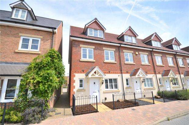 3 Bedrooms End Of Terrace House for sale in Fulmar Crescent, Bracknell, Berkshire