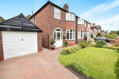 3 Bedrooms Semi Detached House for sale in Cranston Drive, Sale, Greater Manchester, .