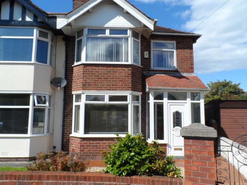 3 Bedrooms Semi Detached House for sale in Teesdale Avenue, Blackpool, FY2 0TH