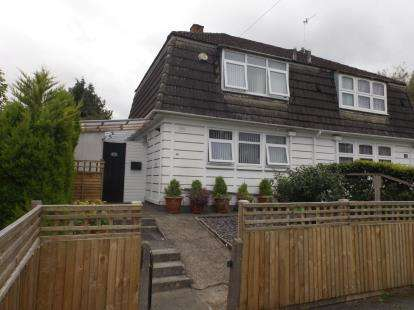 2 Bedrooms Semi Detached House for sale in Halswell Gardens, Bristol