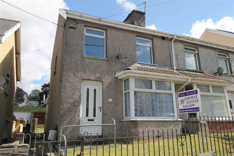 3 Bedrooms Semi Detached House for sale in Oak Street, Gilfach Goch, Porth