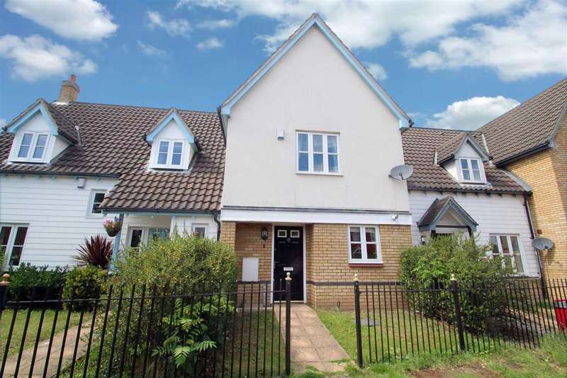 3 Bedrooms Terraced House for sale in Lysander Drive, Ipswich