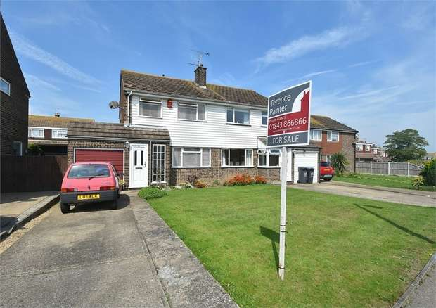 3 Bedrooms Semi Detached House for sale in The Silvers, Broadstairs, Kent