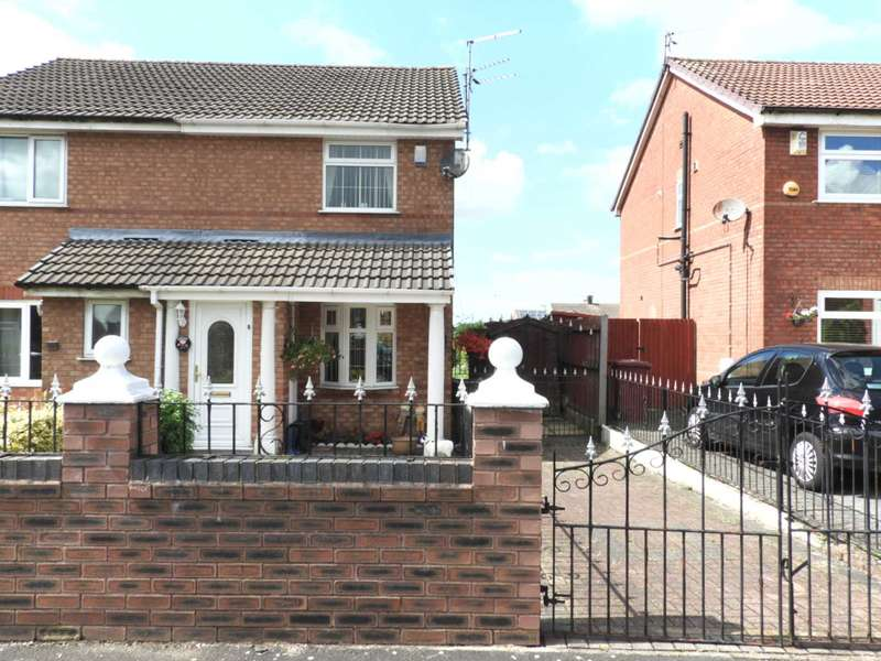 2 Bedrooms Semi Detached House for sale in Acton Road, Westvale, Kirkby, L32 0TT