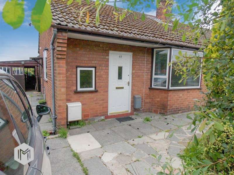 2 Bedrooms Semi Detached Bungalow for sale in Bromley Cross Road, Bromley Cross, BOLTON, BL7