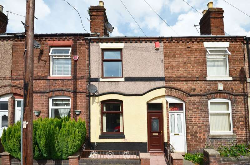 2 Bedrooms Terraced House for sale in Nursery Street, Stoke, ST4 4BS