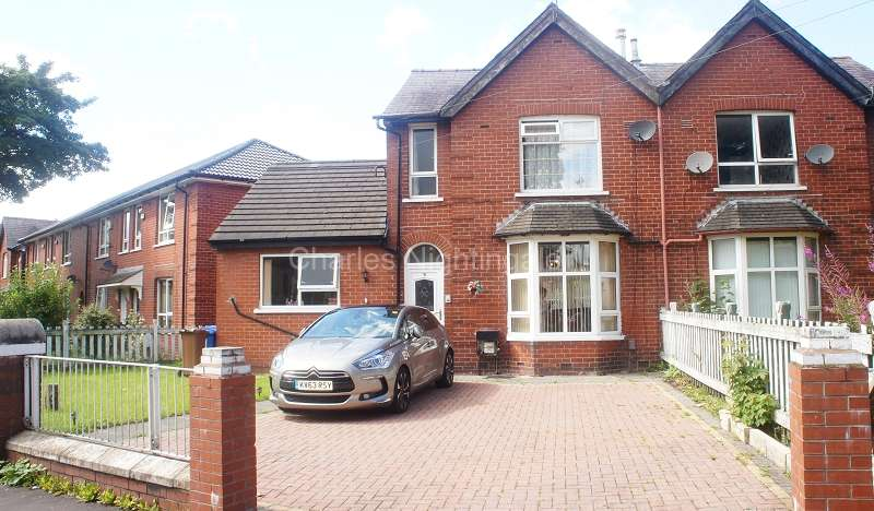 3 Bedrooms Semi Detached House for sale in Bellshill Crescent, Rochdale, Greater Manchester. OL16 2TU