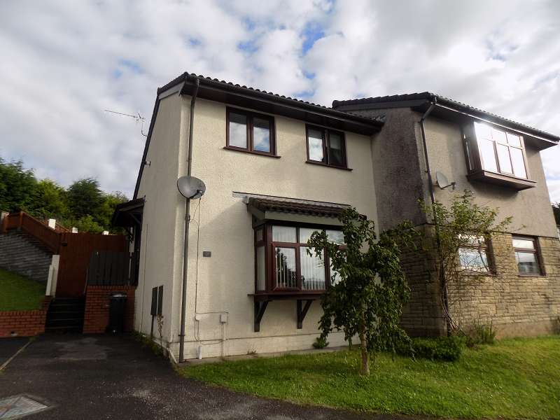 2 Bedrooms Semi Detached House for sale in Bay View Gardens, Skewen, Neath, Neath Port Talbot. SA10