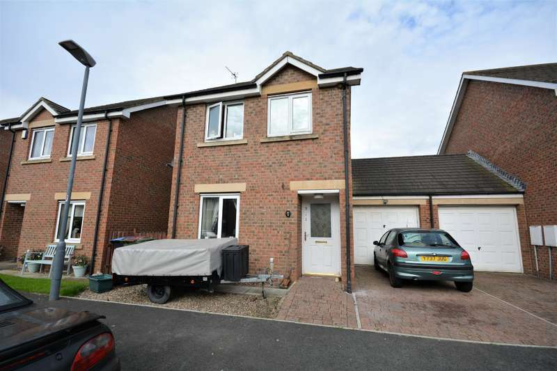3 Bedrooms Link Detached House for sale in Church View, Chilton, Ferryhill, DL17 0ED