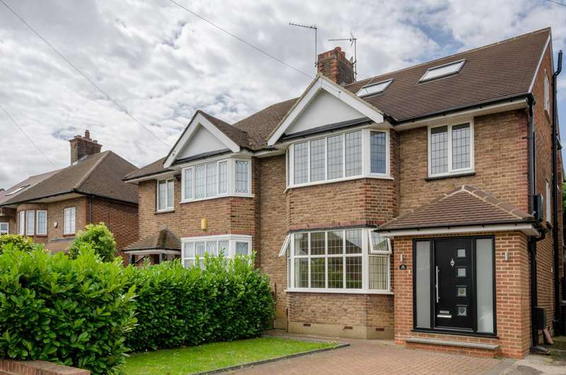 5 Bedrooms House for sale in Cissbury Ring South, Woodside Park, N12