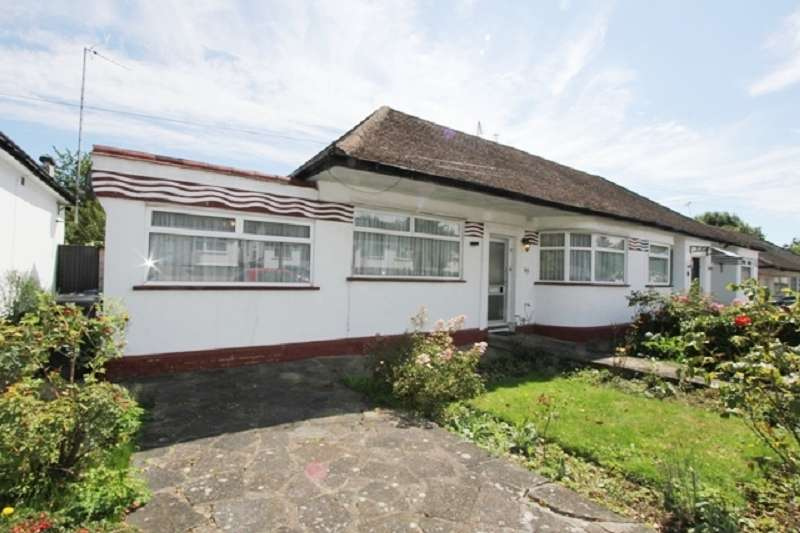 2 Bedrooms Bungalow for sale in Highview Gardens, Edgware, Greater London. HA8 9UD