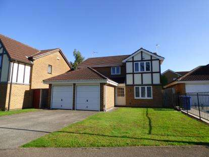 4 Bedrooms Detached House for sale in Muirfield Drive, Mickleover, Derby, Derbyshire