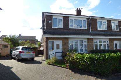 3 Bedrooms Semi Detached House for sale in Langdale Avenue, Lymm, Cheshire
