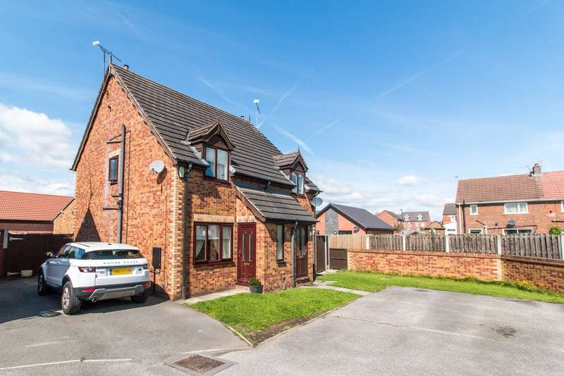 2 Bedrooms Semi Detached House for sale in Holmes Road, Bramley