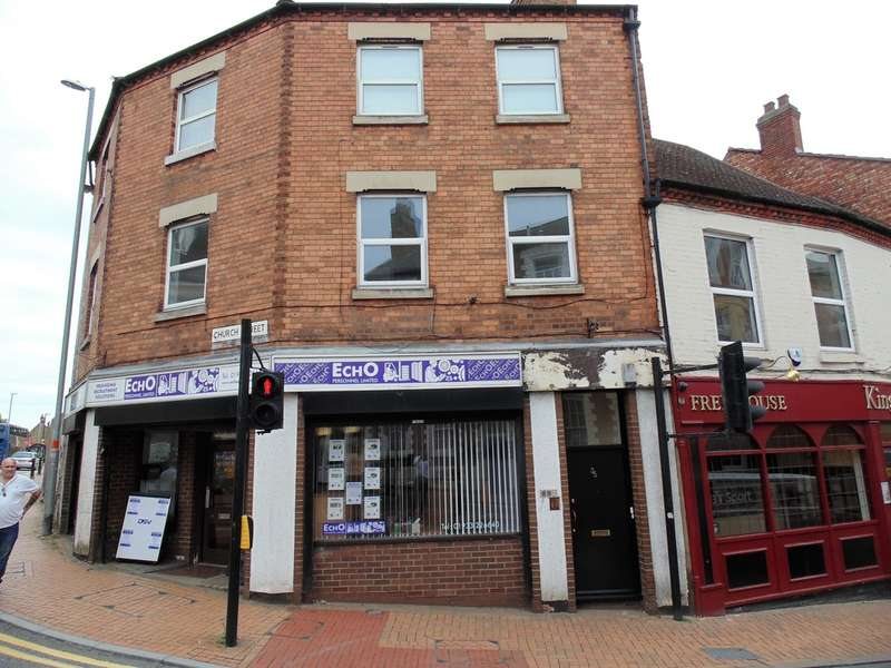 2 Bedrooms Flat for sale in Church Street, Wellingborough