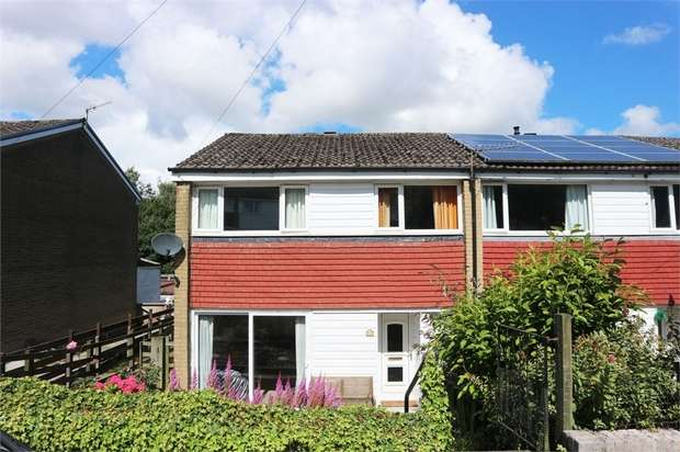 3 Bedrooms End Of Terrace House for sale in Summerfield Road, Todmorden, West Yorkshire