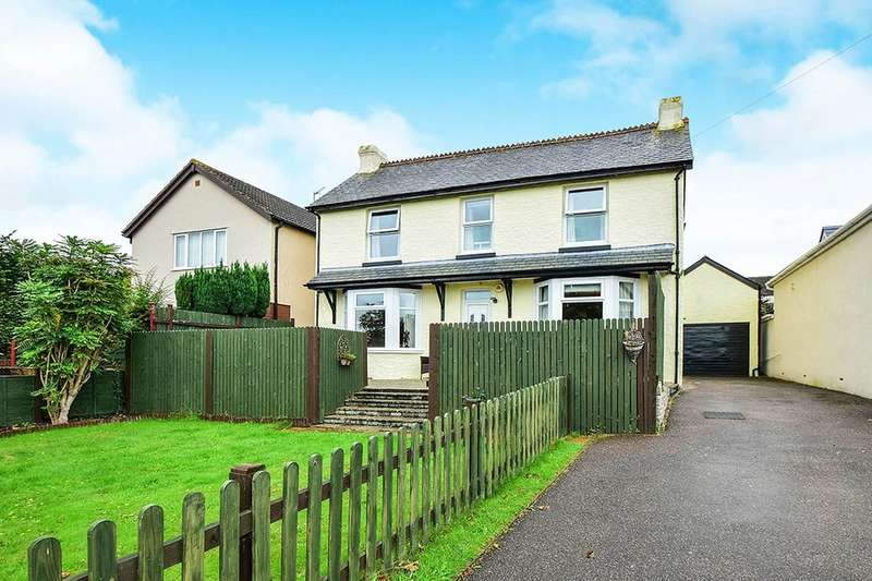 5 Bedrooms Detached House for sale in Exeter Road, Kingsteignton, Newton Abbot, TQ12