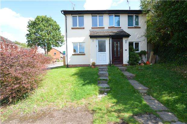 2 Bedrooms Semi Detached House for sale in Eynon Close, CHELTENHAM, Gloucestershire, GL53 0QA