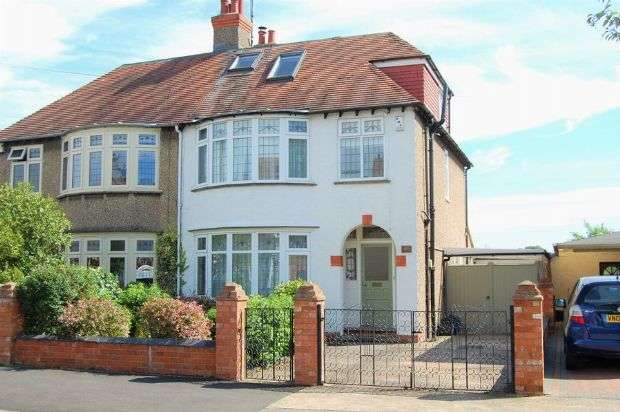5 Bedrooms Semi Detached House for sale in Ardington Road, Abington, Northampton NN1 5LS