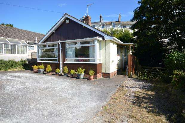 2 Bedrooms Detached Bungalow for sale in Woodway Drive, Teignmouth, Devon