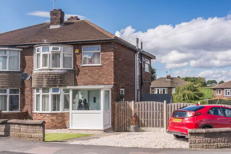 3 Bedrooms Semi Detached House for sale in Wilson Road, Coal Aston