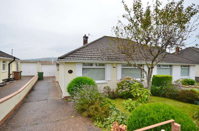2 Bedrooms Semi Detached Bungalow for sale in Mardy Crescent, Caerphilly, CF83