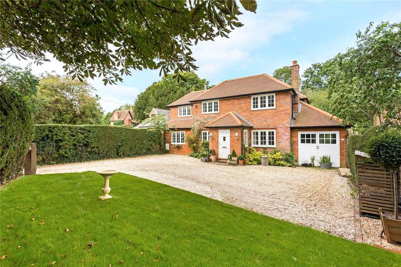 4 Bedrooms Detached House for sale in South Warnborough, Hook, Hampshire, RG29