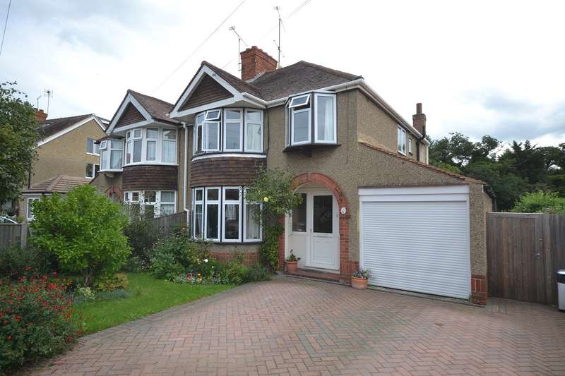 3 Bedrooms Semi Detached House for sale in Caversham Heights