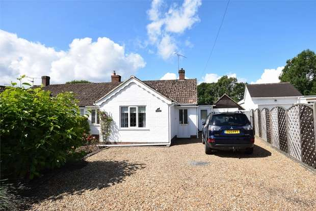 3 Bedrooms Semi Detached Bungalow for sale in Anderida, Greenlands Road, Kemsing, Sevenoaks, Kent
