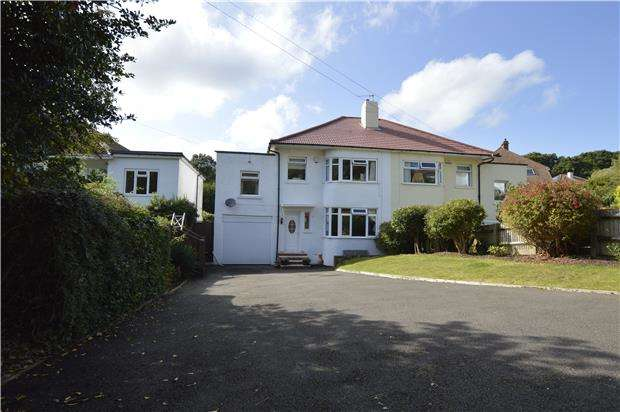 4 Bedrooms Semi Detached House for sale in Lyndhurst Avenue, HASTINGS, East Sussex, TN34 2BD