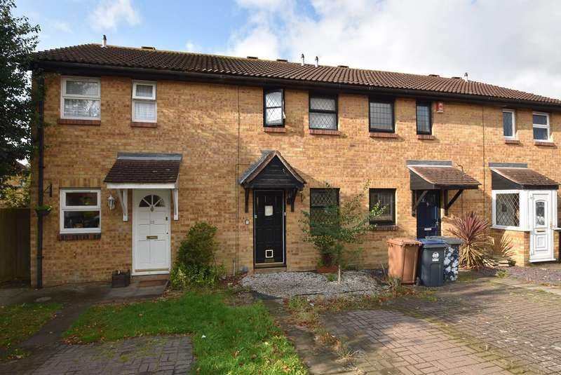 2 Bedrooms Terraced House for sale in Mathams Drive, Bishop's Stortford