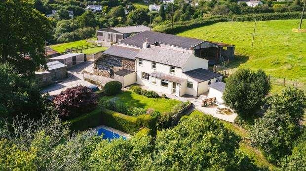 3 Bedrooms Detached House for sale in Shute Lane, Pensilva, Liskeard, Cornwall