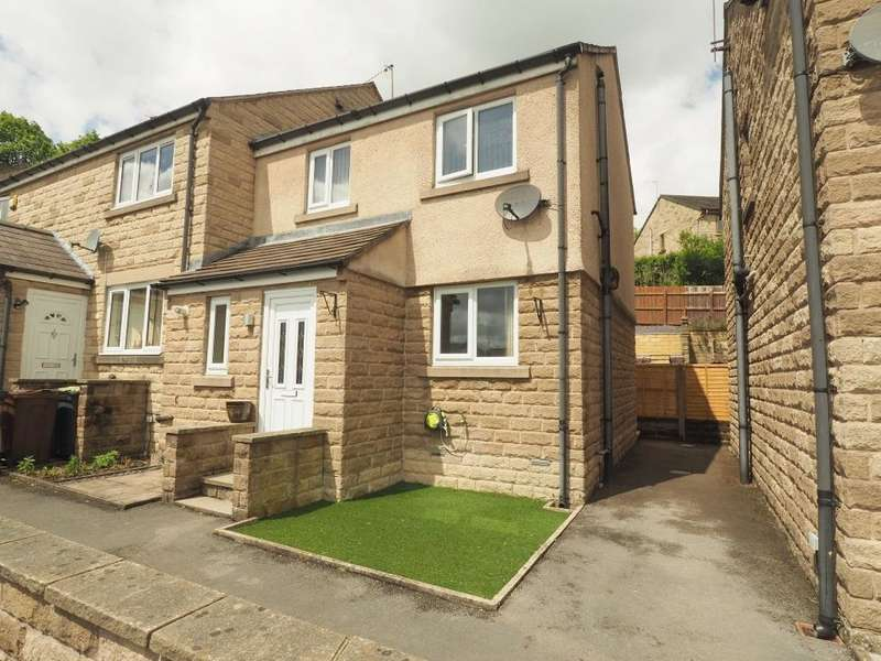 2 Bedrooms End Of Terrace House for sale in Danesway, Chapel-en-le-Frith, High Peak, Derbyshire, SK23 0RF
