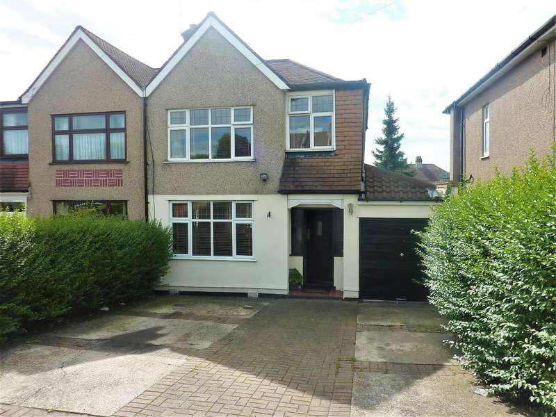 3 Bedrooms Semi Detached House for sale in King Harolds Way, Bexleyheath, Kent, DA7 5QU