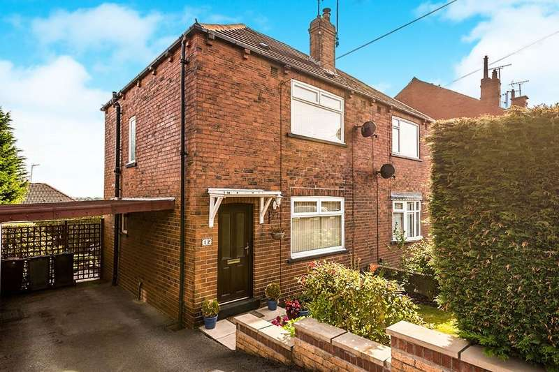 2 Bedrooms Semi Detached House for sale in Park Street, Churwell,Morley, Leeds, LS27