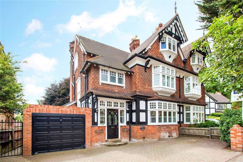 5 Bedrooms Semi Detached House for sale in Grenfell Road, Maidenhead, Berkshire, SL6