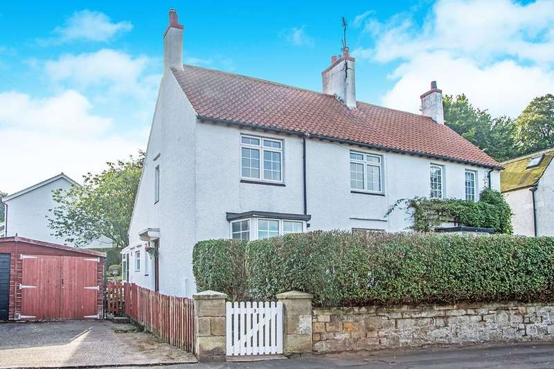 2 Bedrooms Semi Detached House for sale in Foxton Road, Alnmouth, Alnwick, NE66