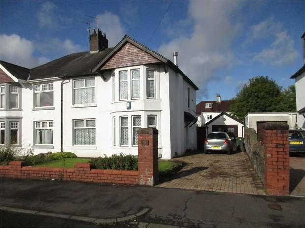 3 Bedrooms Semi Detached House for sale in Greenwich Road, Llandaff, CARDIFF, South Glamorgan