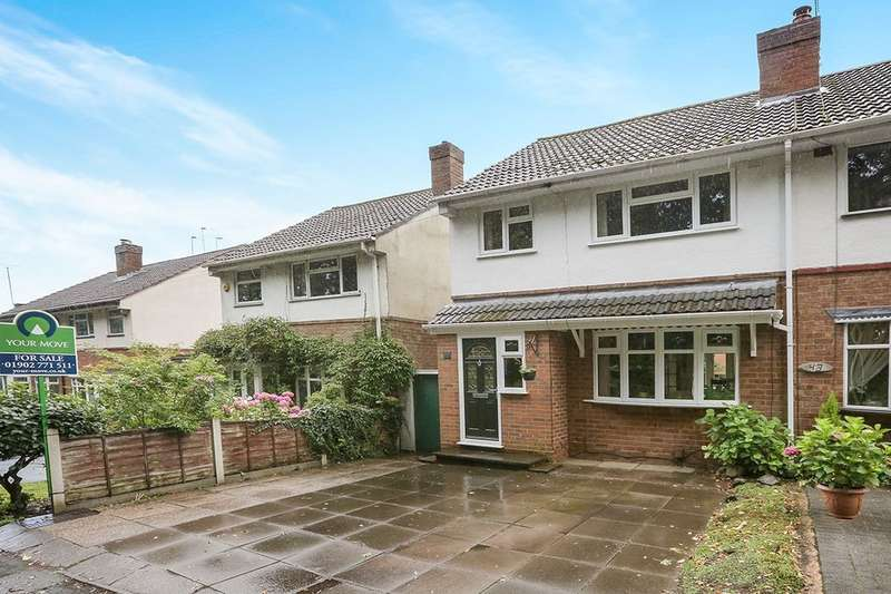 3 Bedrooms Semi Detached House for sale in Mill Lane, Tettenhall Wood, Wolverhampton, WV6