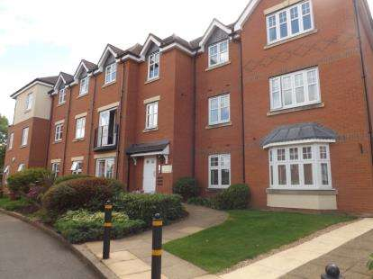 3 Bedrooms Flat for sale in Chancel Court, Solihull, West Midlands