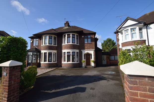 4 Bedrooms Semi Detached House for sale in Harewood Road, Coventry, CV5