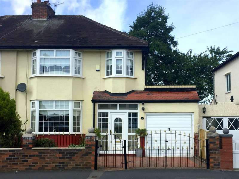 3 Bedrooms Semi Detached House for sale in Marina Crescent, Huyton, Liverpool