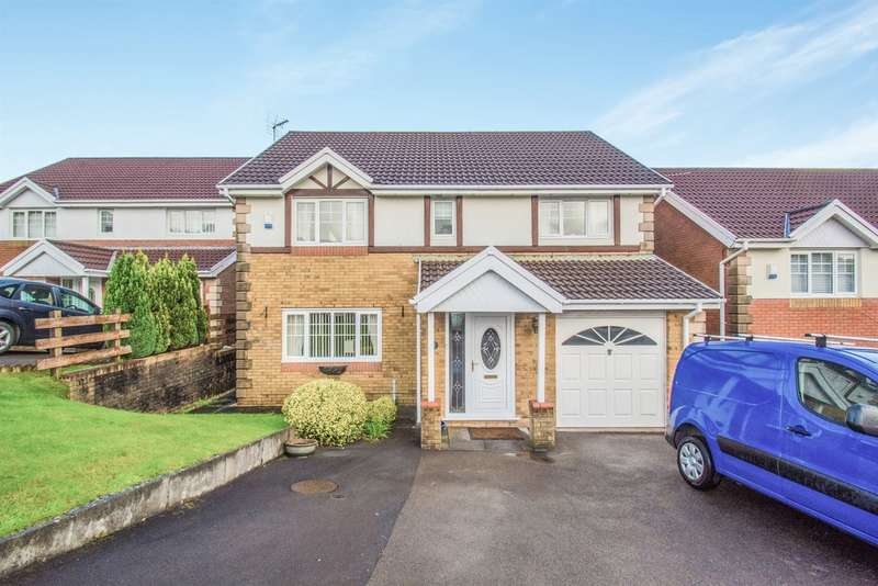 4 Bedrooms Detached House for sale in Graig Y Mynydd, Thomastown, Porth