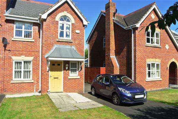 3 Bedrooms End Of Terrace House for sale in Rosefinch Way, Blackpool