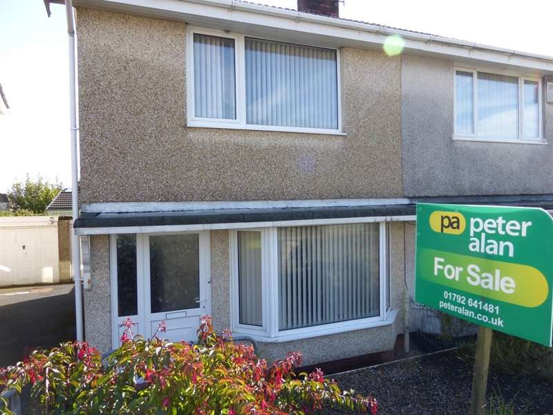 2 Bedrooms Semi Detached House for sale in Penllwynmarch Road, Gendros