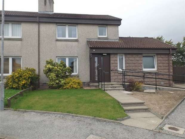 4 Bedrooms Semi Detached House for sale in Farrochie Gardens, Stonehaven, Aberdeenshire