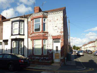 2 Bedrooms End Of Terrace House for sale in Cambridge Road, Bootle, Liverpool, Merseyside, L20