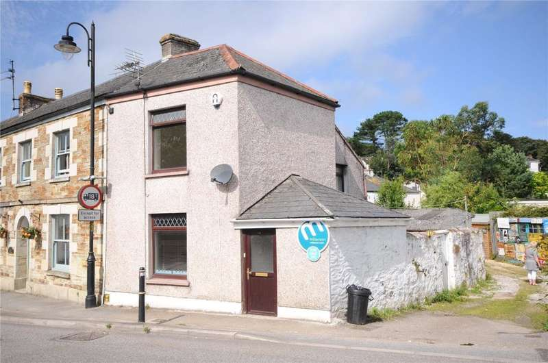 2 Bedrooms End Of Terrace House for sale in Fore Street, Chacewater, Truro